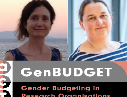 Gender Budgeting on the stage!